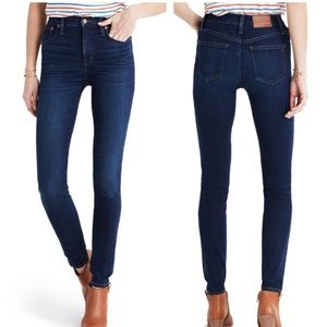 """MADEWELL 10"""" High Rise Skinny x Thermolite"""